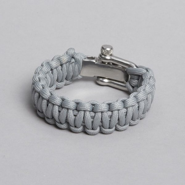 grey paracord