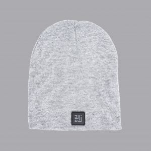 Grey Beanie by ZLCOPENHAGEN.