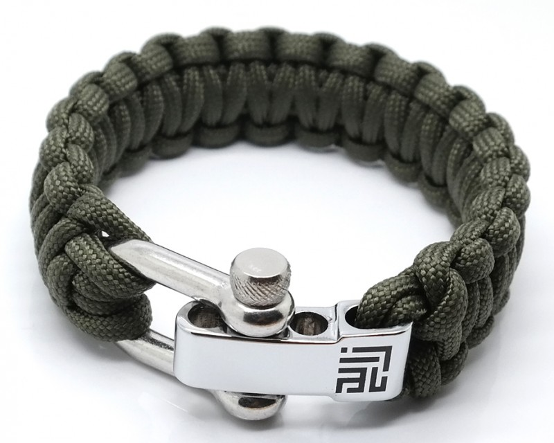 ARMY PARACORD SILVER