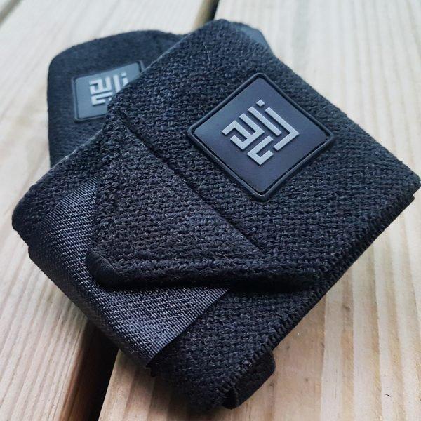 ZLC Black wrist wraps recycled