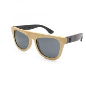 Nature Black Bamboo Sunglasses by ZLC.