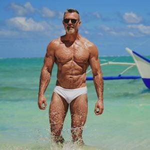 Gernon in our classic swimwear