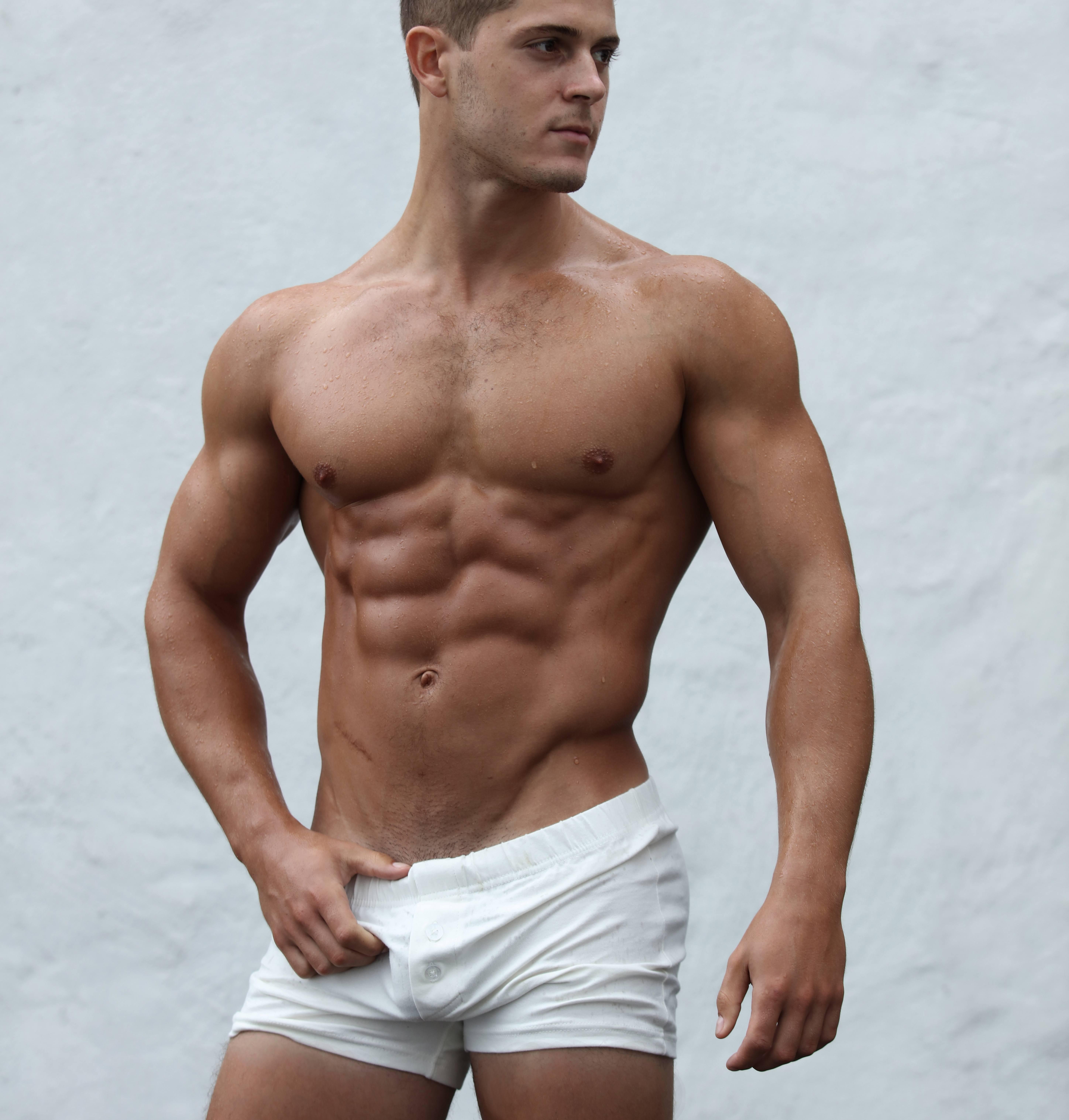 ZLC Rå hvid boxer.