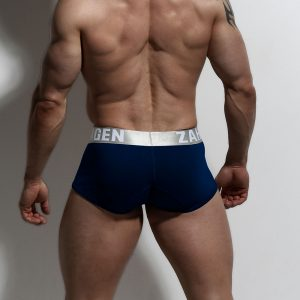 Navy Trunks Organic Underwear By ZLCOPENHAGEN