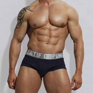 Navy trunk by Zahid Latif Copenhagen