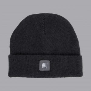 Black Beanie Folded by ZLCOPENHAGEN.