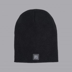 Black Beanie made by ZLCOPENHAGEN.