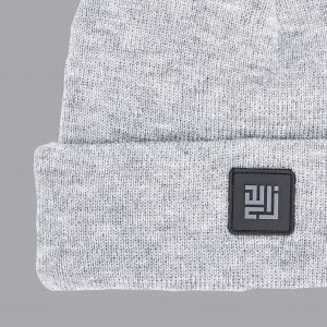 Grey colour, folded Beanie by ZLC.