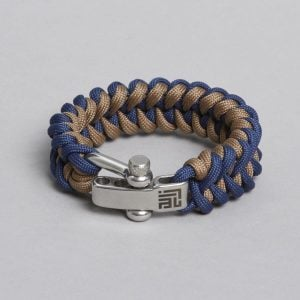 NAVY BEIGE PARACORD BY ZLC.