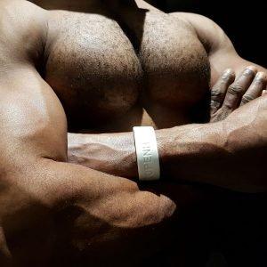 White Silicone Bracelet, Charity Bracelet ZLCOPENHAGEN
