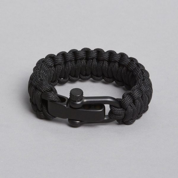 Black in black bracelet by ZLC.