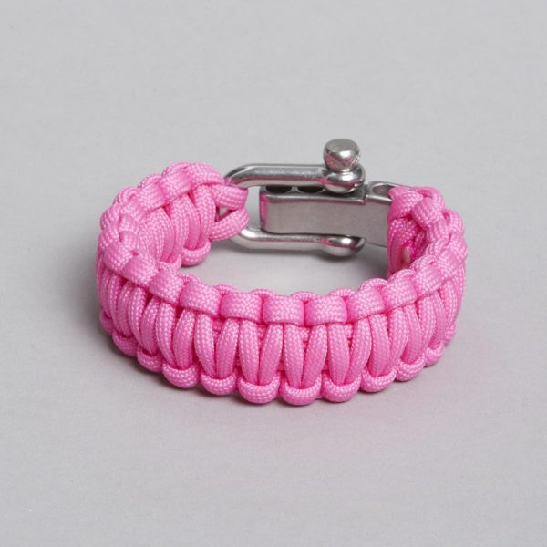 Pink bracelet, backside, by ZLC.