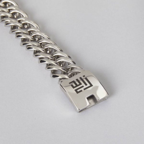 High Polished Stainless Steel Chain Bracelet