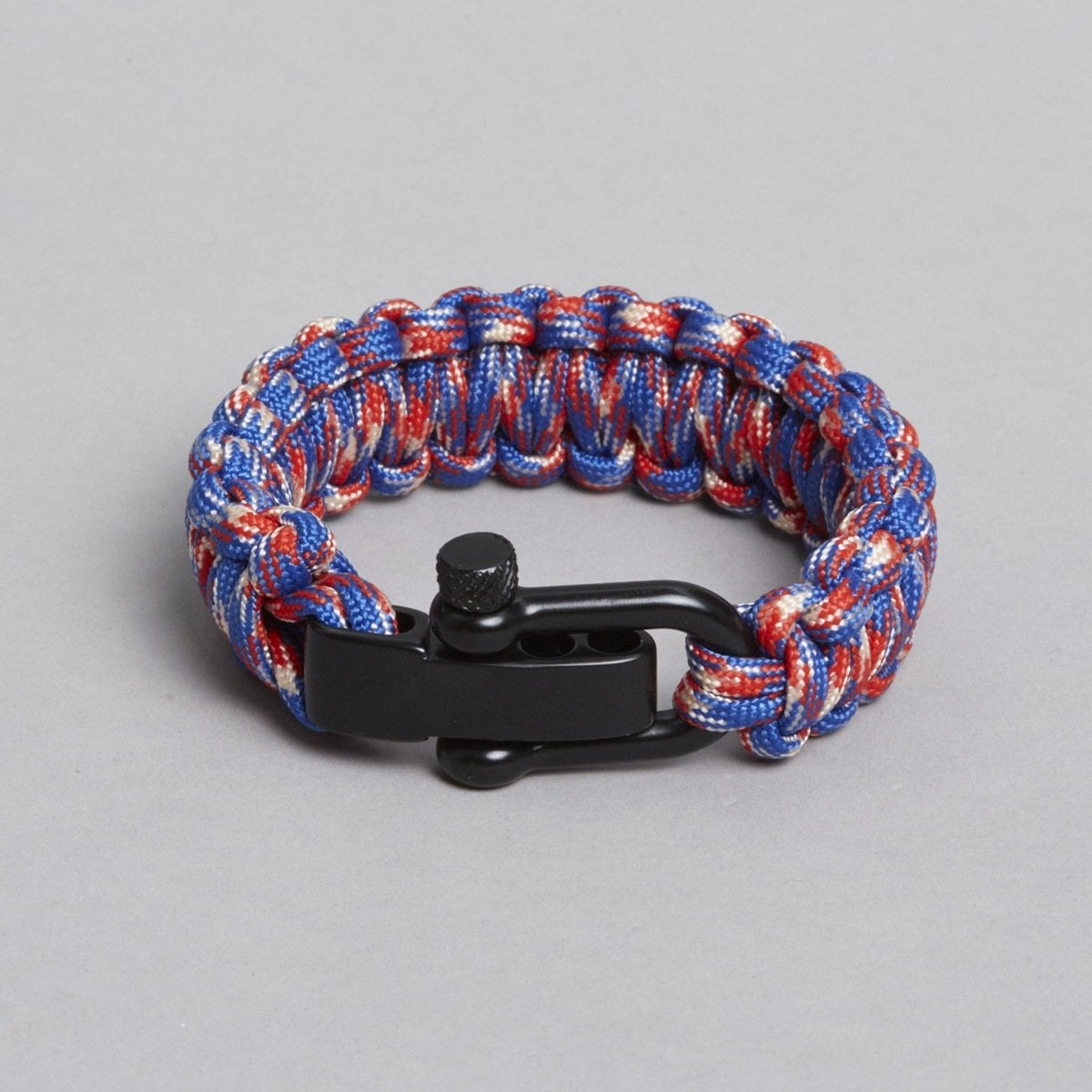ZLC Blue, Red & White Paracord Bracelet