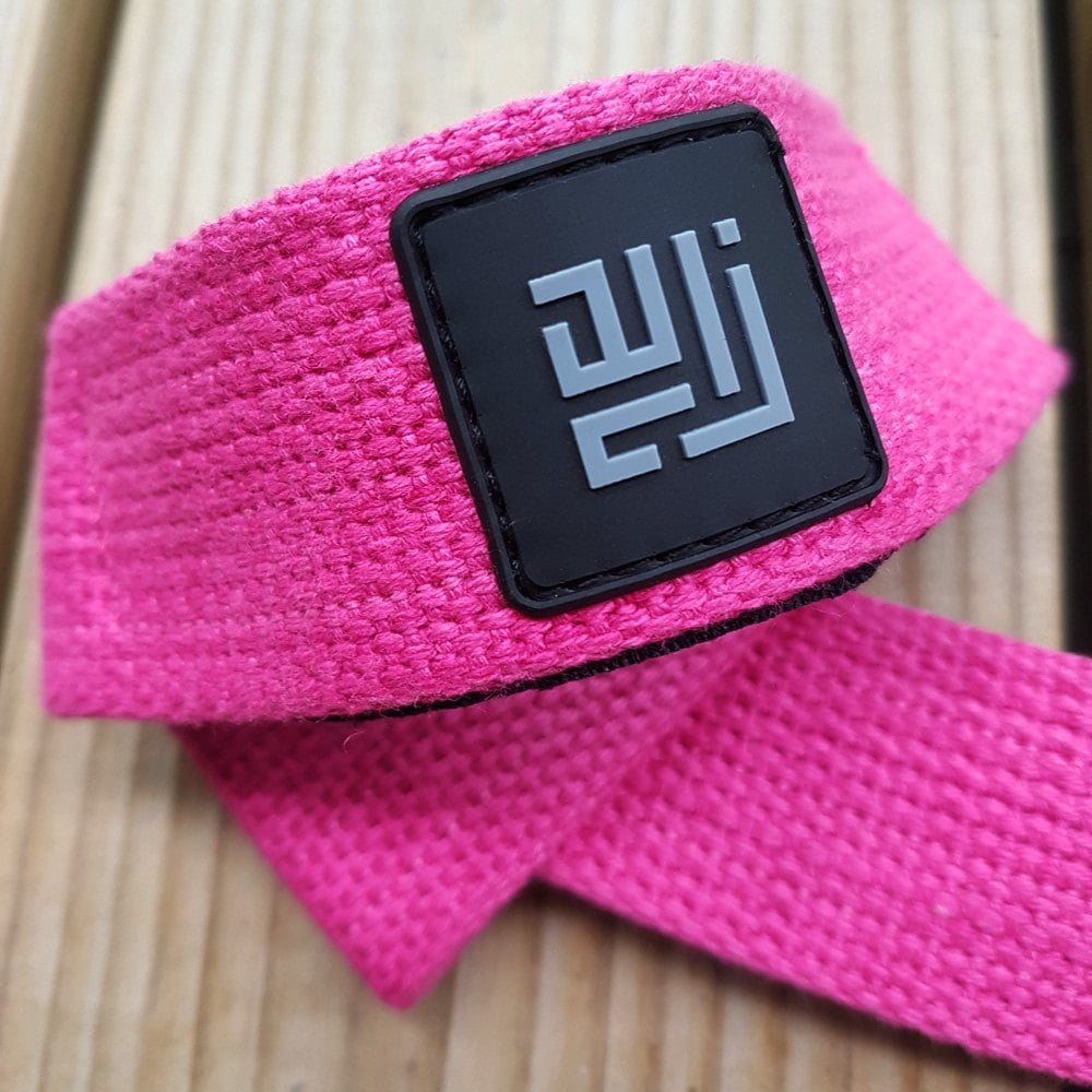 Pink Power Lifting Straps