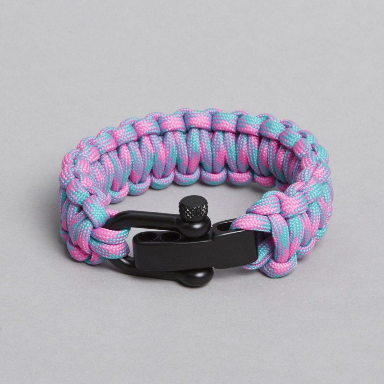 Pink Turkis Paracord Bracelet