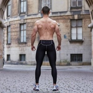 ZLC BLACK COMPRESSION TIGHTS