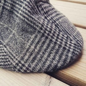 SIXPENCE GREY CHEQUERED