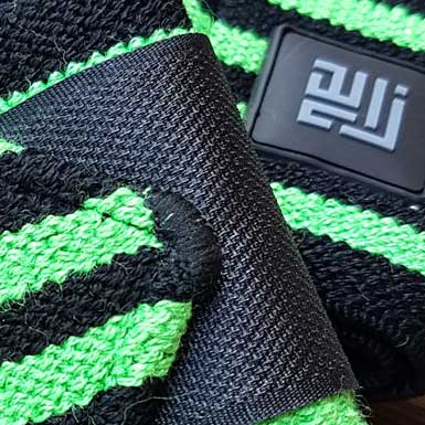 ZLC Straps Stripes in Black & Green colours