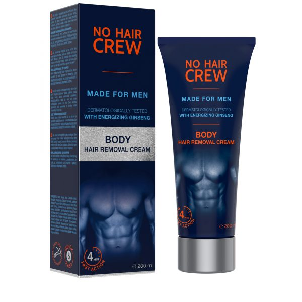 BODY - hair removal cream 200ml by ZLCOPENHAGEN