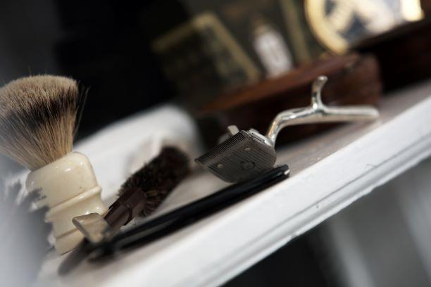 Barber-tools-photoshoot-underwear-campaign-ZLCOPENHAGEN
