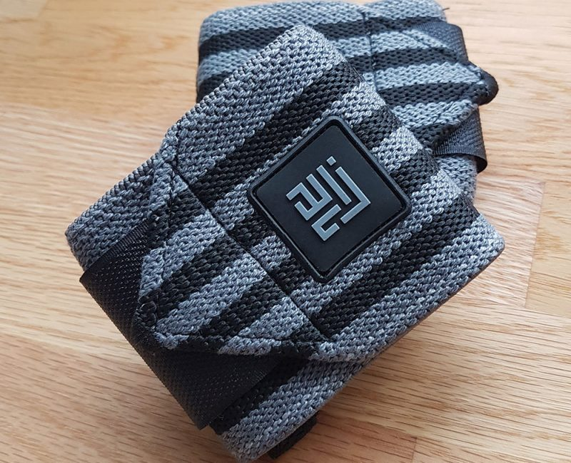ZLC Black Grey Wrist Wraps - Original